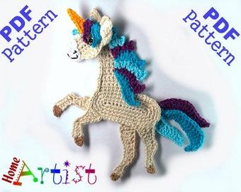 Horse / Unicorn  crochet pattern