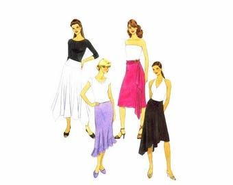SALE Misses Skirts in Three Lengths McCalls 4882 Sewing Pattern Full Figure Size 16 - 18 - 20 - 22 Waist- 30 - 32 - 34 - 37 Uncut