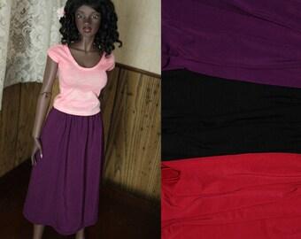 EID 68cm BJD Midi Skirt Solid Jersey