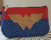 Custom Wonder woman Wristlet for Beth