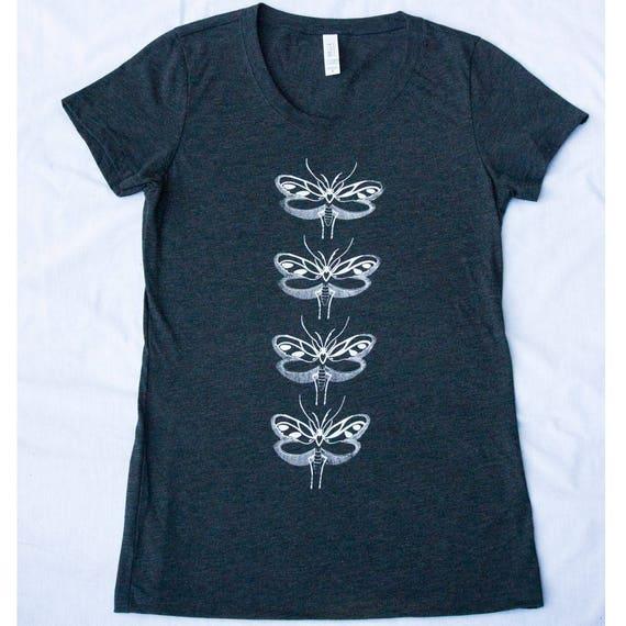 Women's Moth Wings Tee Shirt