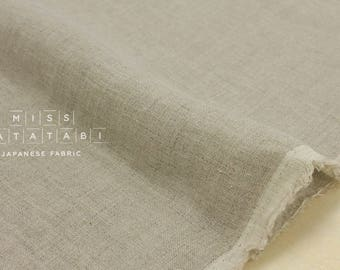 Japanese Fabric 100% linen - natural -  50cm