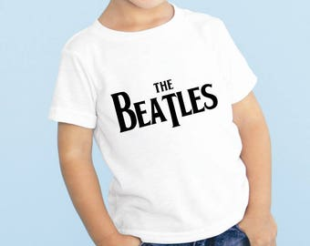 The Beatles Baby or Toddler Gift Set T-Shirt & Optional Gift Box