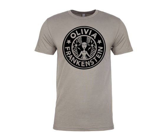Olivia Frankenstein Starbugs Logo Tshirt in Gray