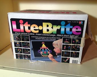 Lite Brite Toy Milton Bradley