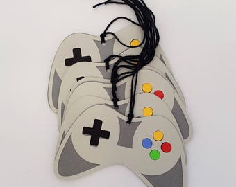 Video Game Tags, Gamer Tags, Birthday Tags, FavorTags, Gift Tags, Gamer Party. Video Game Party. READY TO SHIP