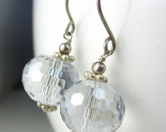 SUMMER SALE Disco Ball Earrings