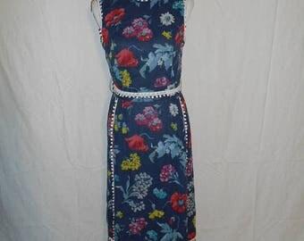 Closing shop SALE 40% off 60's 70's floral maxi long dress, Midge Grant boho bohemian hippie hippy dress