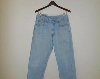 Closing Shop 40%off SALE Levis 550 Jeans - 90s Levis waist W 32  - High Waist - Mom jeans