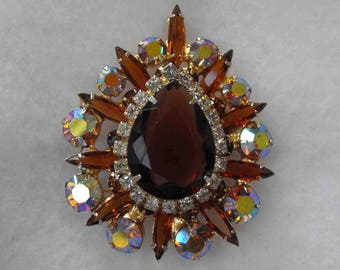 Vintage Brooch-Pendant, DeLizza and Elster, Juliana, ca 1960s NT-861
