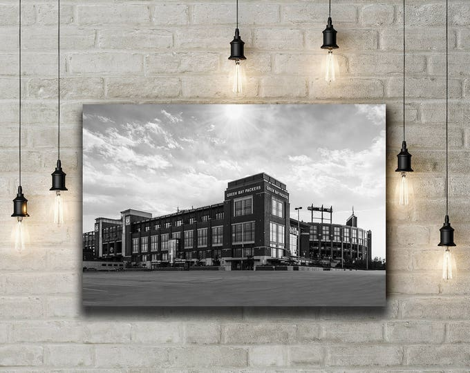 Featured listing image: Light over Lambeau