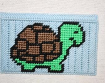 Turtle checkbook cover