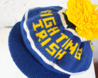 1980's Notre Dame Fighting Irish Winter Hat