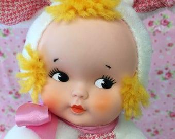 Vintage Knickerbocker Bunny Doll Toy