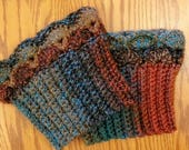 Woodland Tweed Boot Cuffs, Boot Toppers