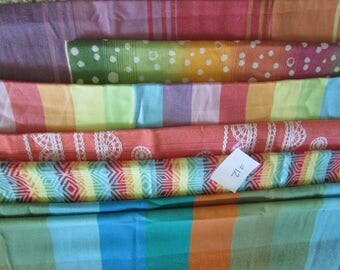 Wrap Scrap Fabrics #12 - Lenny Lamb, Little Frog, Tekhni, suck pads, drool pads, from woven baby wrap carriers, mobiles, clothing