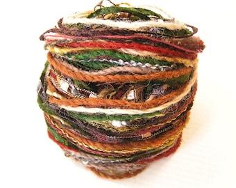 Yarn Variety Hank in Earth Colours
