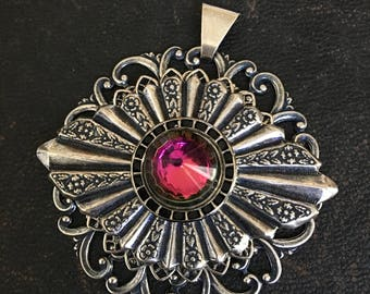 Pendants by Sunnylook Vintage Glass Cabochon Handcrafted