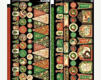 NOW ON SALE Graphic 45 St. Nicholas Banners