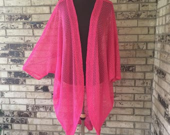 Plus Size Knit Summer Shrug