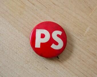 """PS 1"""" pin"""