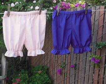 Ready now!  PINK Toddler 4T Basic Bloomers Cotton