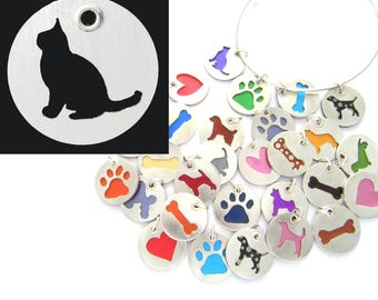 Burmese Cat Sterling Silver Necklace Pendant Charm - Lots of Colors