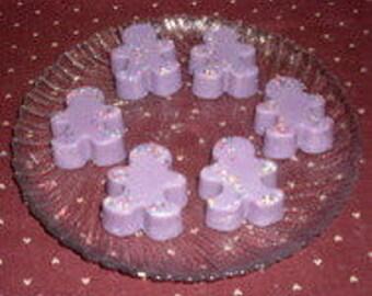 Gingerbread Boy Wax Tarts Grape Soda Pop