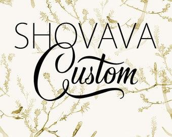 Custom link for Shauna