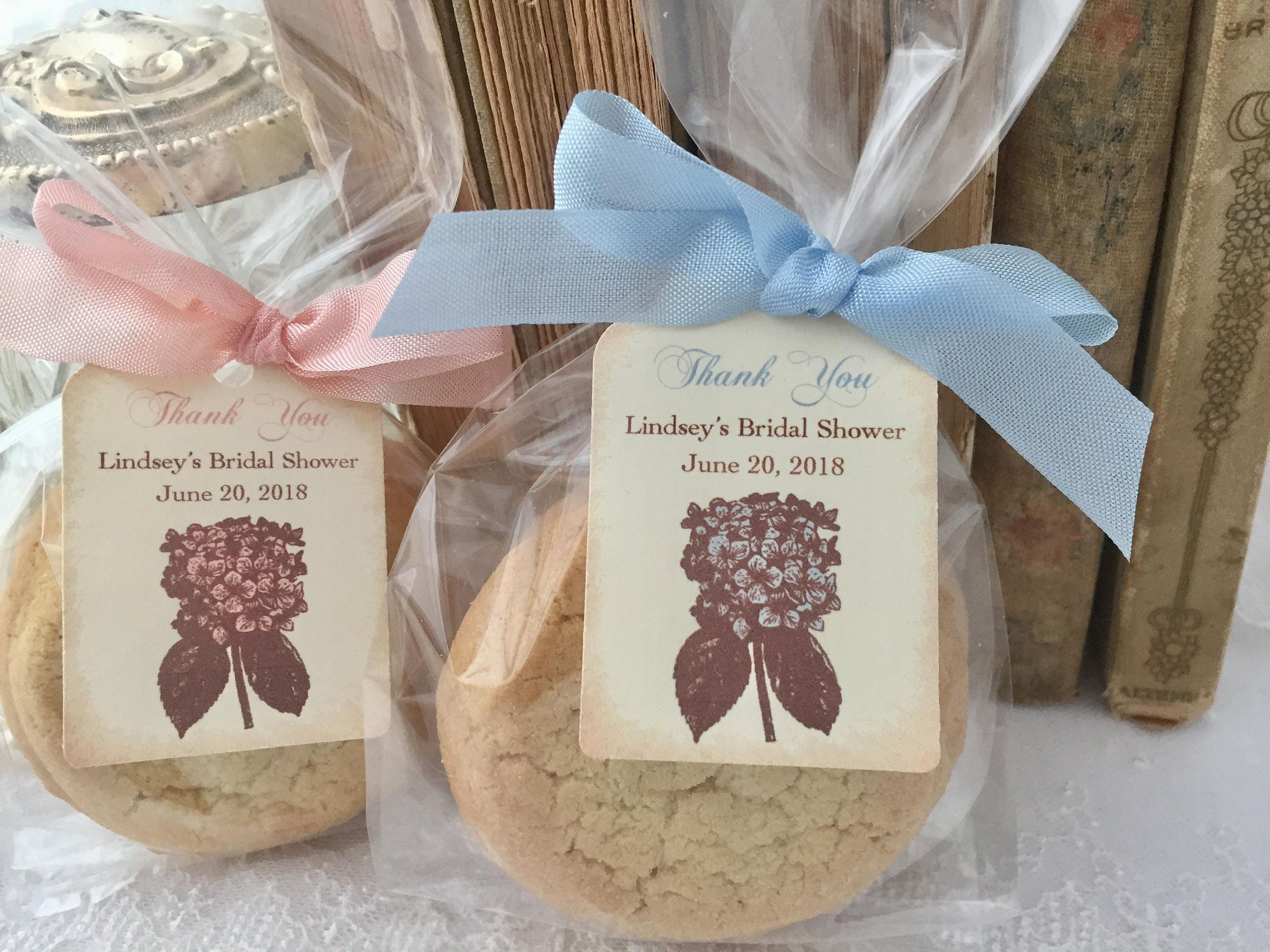 Cookie favor bags for weddings for Cookie bags for wedding