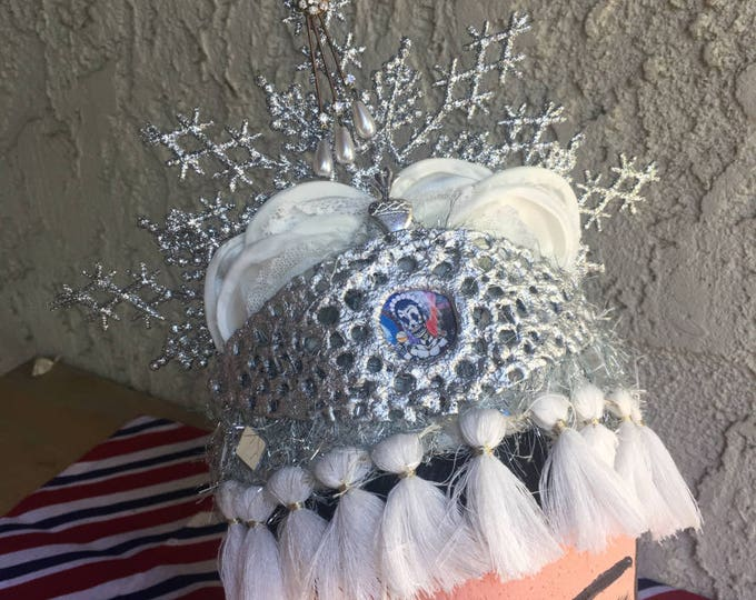 Day of the Dead Crown - Mixed Media