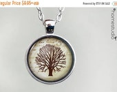 ON SALE - Family Tree  Glass Dome Necklace, Pendant or Keychain Key Ring. Gift Present metal round art photo jewelry by HomeStudio