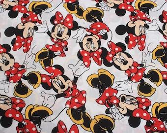 4645 - Minnie Poplin Cotton Fabric - 55 Inch (Width) x 1/2 Yard (Length)