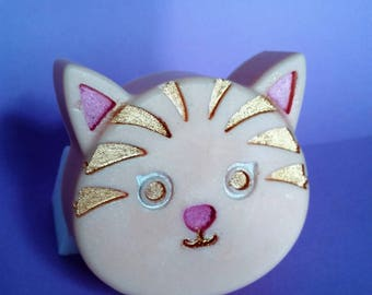Cat Soap - Kitten Soap, Cats,Great Gift,Party favor,Tween gift, Birthday gift, Teacher, Kid's Soap