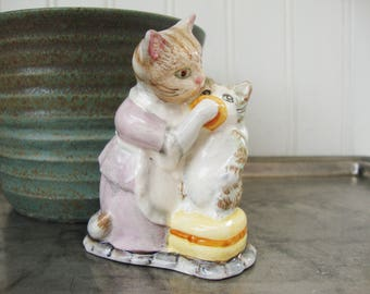 beswick tabitha twitchit and miss moppet ceramic figurine