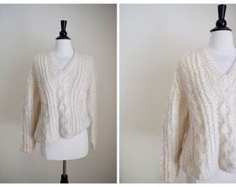 1960s Vintage Mohair Pullover Sweater