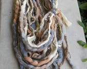 Glitz & Beige Infinity Scarf, Scarf Jewelry