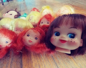 Doll Heads - Vintage