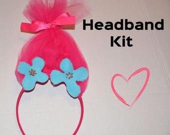 Poppy Headband Kit