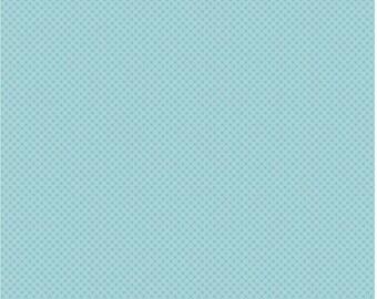 Kisses Tone on Tone Aqua (C210) - Riley Blake Designs