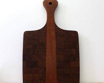 1960s mid century modern Kromex cutting board.