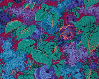Philip Jacobs PWPJ068 Lilac Plum Cotton Quilting Fabric By Yard