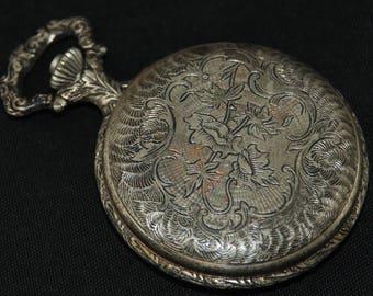 Vintage Pocket Watch Movement Case Body  Dial Face Steampunk QR 69
