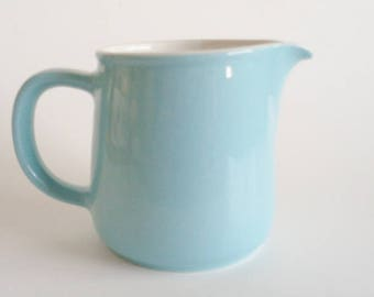 Vintage Arabia Blue Pitcher/Creamer Made In Finland