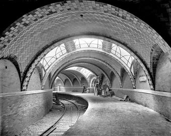 City HAll Subway Station New York 1900s Photo