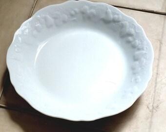 Philippe Deshoulieres Blanc de Blanc rim soup bowl