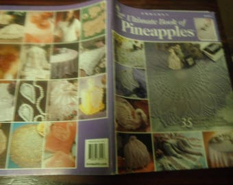Thread Doily Crochet Patterns Ultimate Book of Pineapples Annie's Attic 873212 Crochet Pattern Leaflet