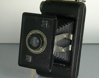 Vintage Jiffy Kodak Six 20 Folding Camera 1930's