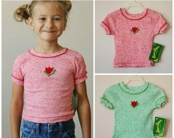 ON SALE NOS, 1970s Sugar & Spice Tee >>> 2t/3t or 3t/4t