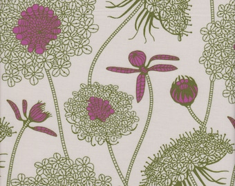 Free Spirit Fabrics Anna Maria Horner Sweet Dreams Lacey in Moss - Half Yard